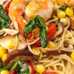 Angel Hair with Scallops & Shrimp (2)